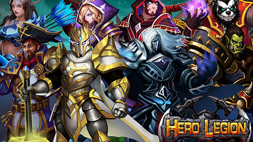 Hero legion online: 3D real time tactical MMO RPG скриншот 1