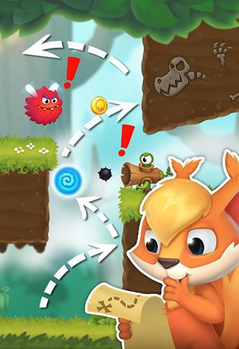 Arcade-Spiele Race for nuts 2 für das Smartphone