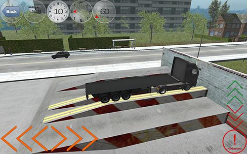 Simulator-Spiele Duty truck für das Smartphone