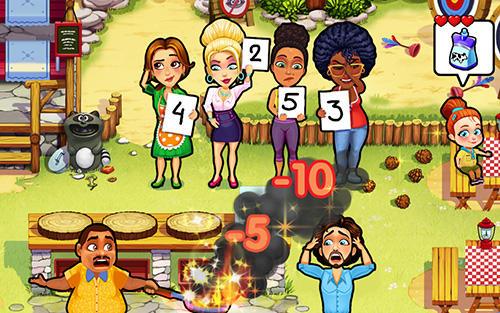 Arcade-Spiele Delicious: Emily's moms vs dads für das Smartphone