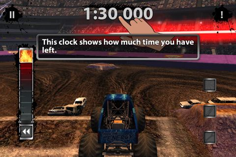 Monster jam game for iPhone for free