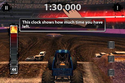 Monster-Truck Spiel für iPhone