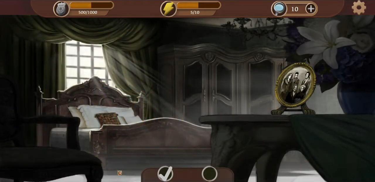 Detective & Puzzles - Mystery Jigsaw Game captura de pantalla 1