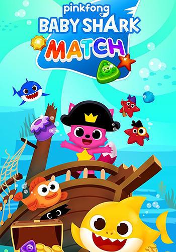 Baby shark match: Ocean jam captura de pantalla 1