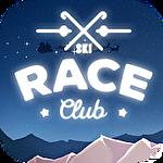 Ski race club icon