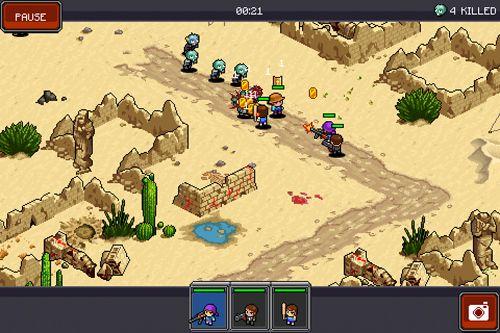 Arcade-Spiele: Lade Tombie Commando auf dein Handy herunter