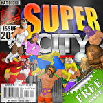 Super city: Superhero sim Symbol