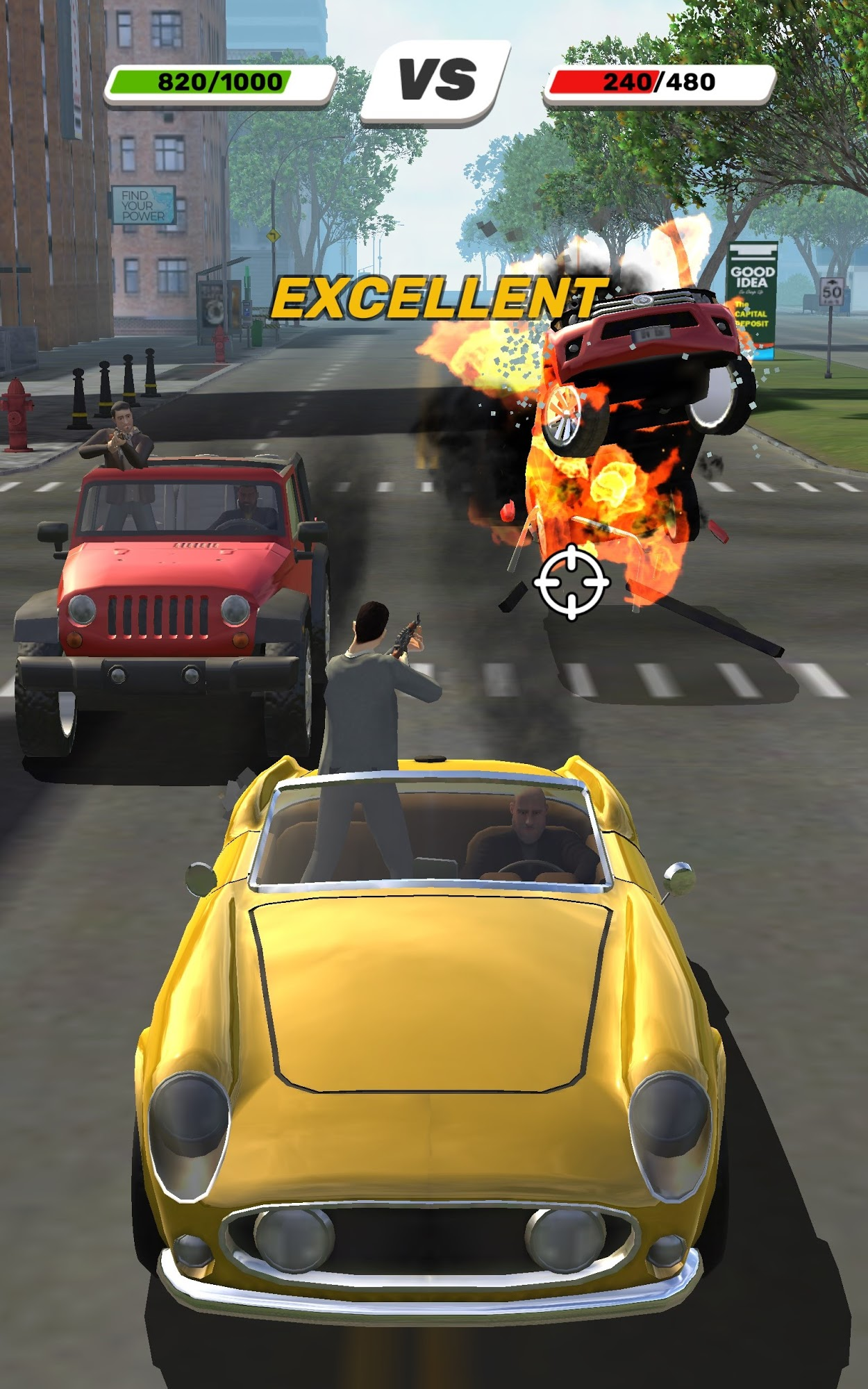 Gang Racers для Android