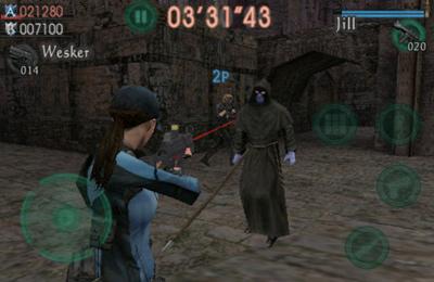 Resident Evil gegen Söldner für iPhone