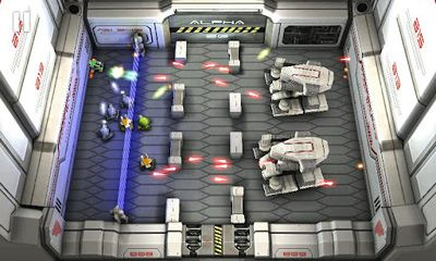 Shooter games Tank Hero Laser Wars in English