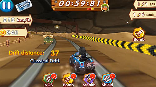 Crazy racing: Speed racer for Android