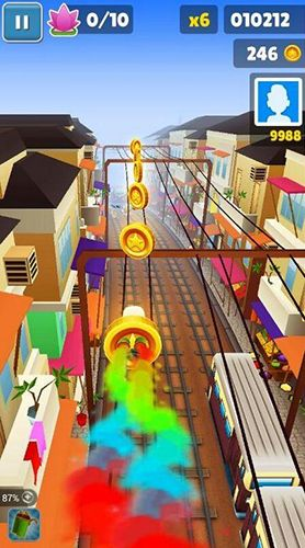 Arcade Subway surfers: World tour Mumbai für das Smartphone