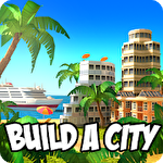 Paradise city island sim Symbol
