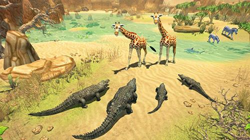 Simulation games Crocodile family sim: Online for smartphone