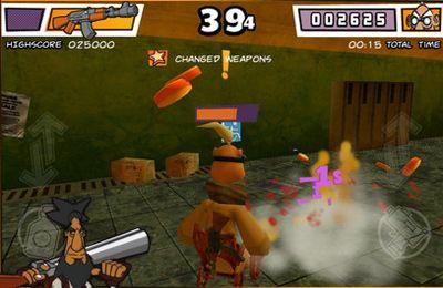 Screenshot Rollstuhl-Krieger - 3D Kampfarena auf dem iPhone