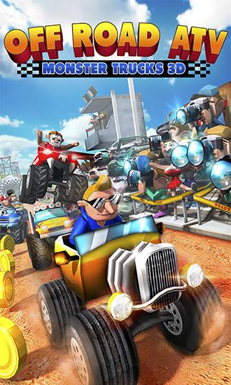 Off road ATV: Monster trucks 3D captura de pantalla 1