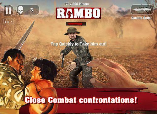 Rambo em português