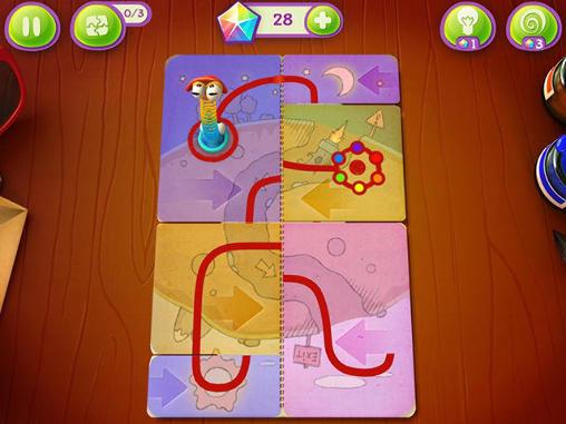 Spiele für Kinder Fold the world auf Deutsch