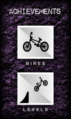 Simulation Fingerbike BMX for smartphone
