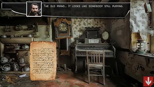 Abenteuer-Spiele Cursed old house für das Smartphone