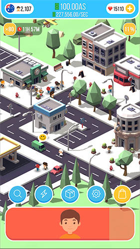 Idle island: City building tycoon für Android