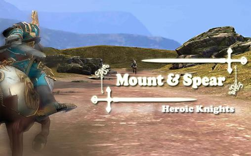 Mount and spear: Heroic knights icon