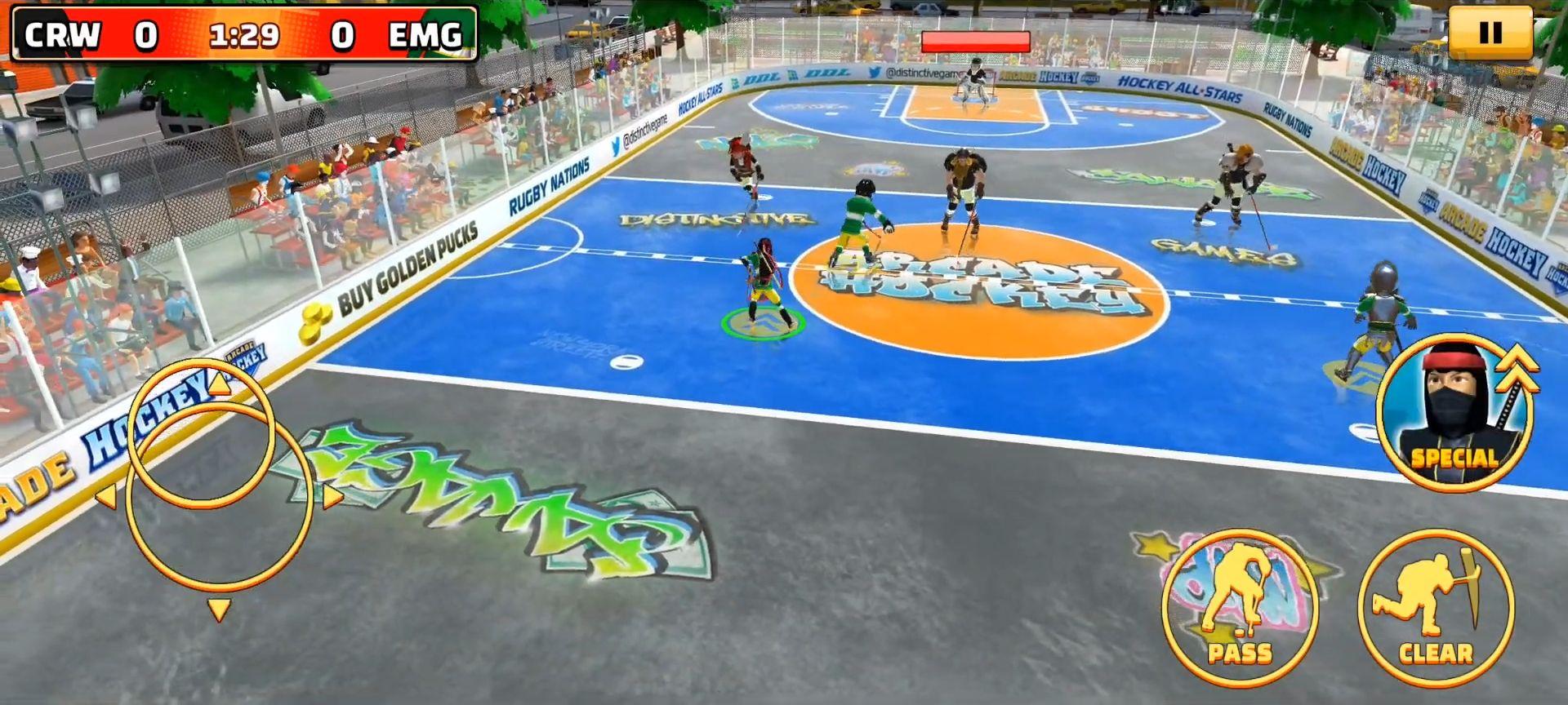 Arcade Hockey 21 captura de tela 1