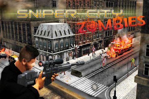 logo Sniper City: Zombies