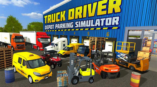 Truck driver: Depot parking simulator скриншот 1