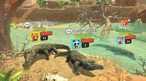 Animal games Crocodile family sim: Online in English