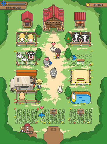Strategy games Tiny pixel farm for smartphone