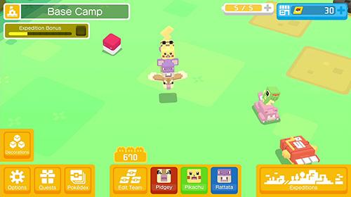 Actionspiele: Lade Pokemon Quest auf dein Handy herunter