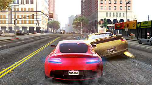 Carreras City racing adventure 3D para teléfono inteligente
