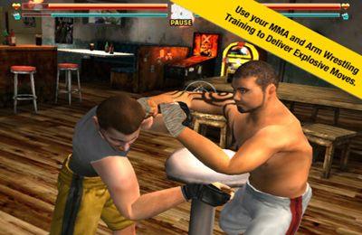 Kampfspiele: Lade XARM Extremales Armwrestling auf dein Handy herunter