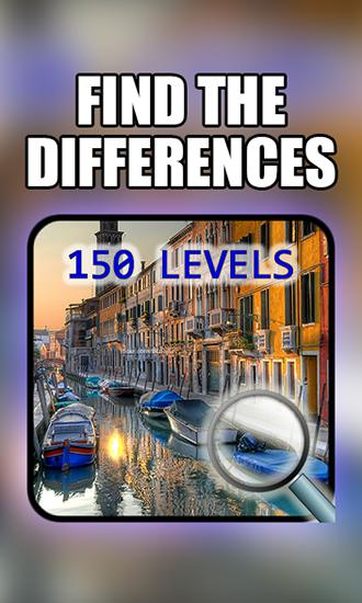 Find the differences: 150 levels icon
