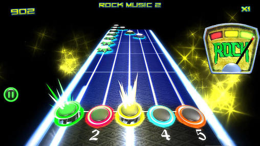 Music games Rock vs guitar legends 2015 in English