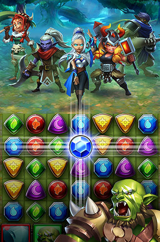 Dragon strike: Puzzle RPG para Android