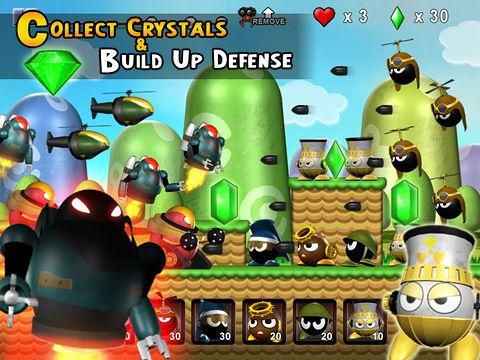 Arcade-Spiele: Lade Winzige Abwehr auf dein Handy herunter