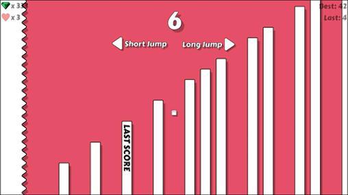 Juegos de arcade Jump up para teléfono inteligente