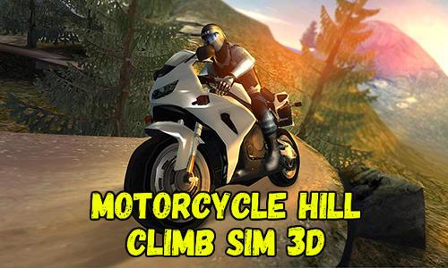 Motorcycle hill climb sim 3D Symbol