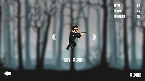 Arcade Forest zombie kill for smartphone