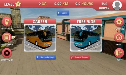 Simulateur de l'autobus 2015 en russe