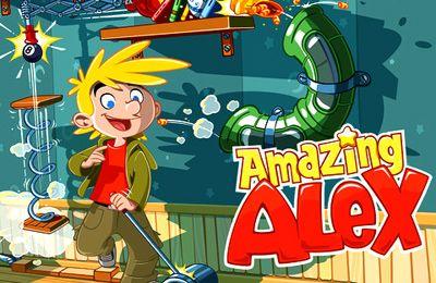 логотип Поразительный Алекс