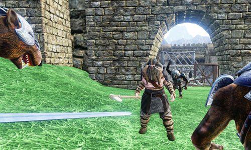 Драки: Treemen warrior на телефон iOS