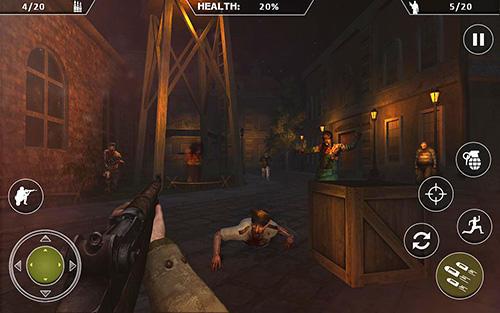Zombie Shooter WW2 Zombies survival : World war horror story auf Deutsch