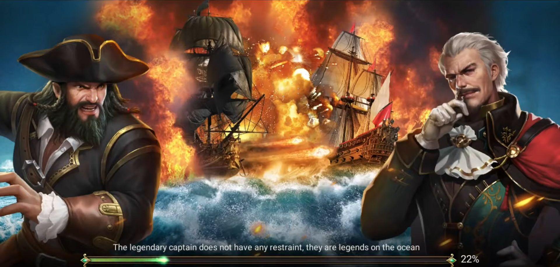 Age Of Pirates : Ocean Empire captura de tela 1