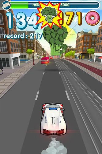 Hunger cops: Race for donuts Screenshot