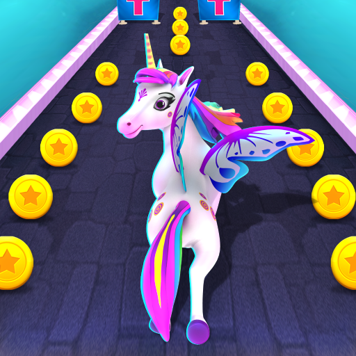 Magical Pony Run - Unicorn Runner icône