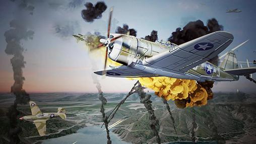 World warplane war: Warfare sky für Android