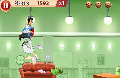 Screenshot Spielebox fürs Büro auf dem iPhone